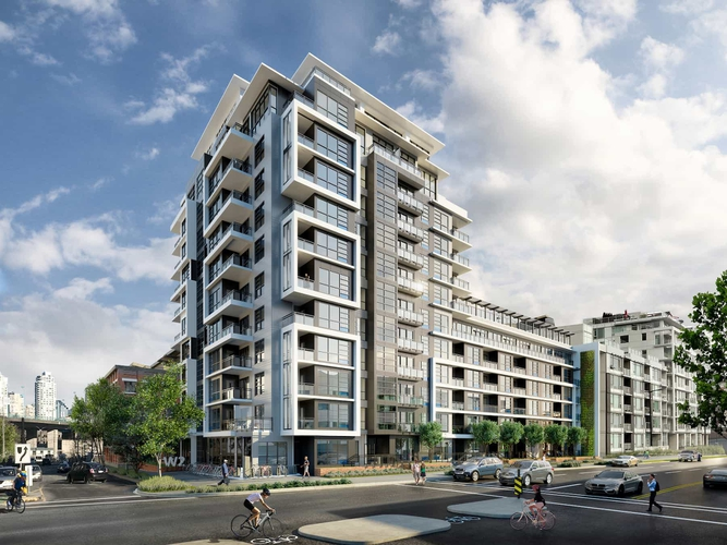 W2 Living Apartments for Rent, 1988 Wylie St, Vancouver, BC - 1