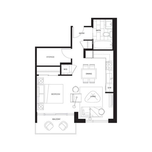 Level Suite 1022 Seymour St Vancouver Bc 1 Bedroom Apartment For Rent Liv Rent